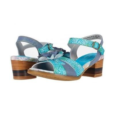 L'Artiste by Spring Step ラーティスト レディース 女性用 シューズ 靴 ヒール Petaluma - Blue Multi
