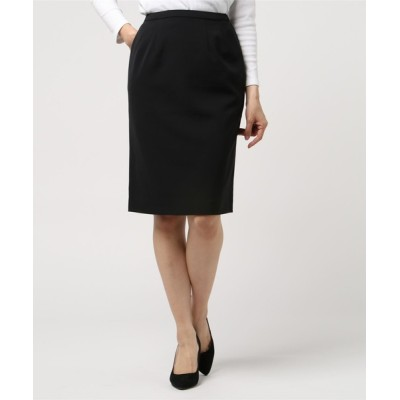 TOKYO SHIRTS / フォーマル  ベーシック ダブルクロス タイトスカート WOMEN スーツ/ネクタイ > スーツスカート