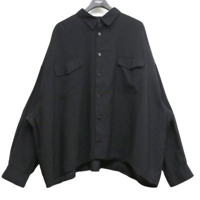 whowhat 19AW 5X SHIRT SHORT LENGTHショートレングスオーバーサイズシャツ (下北沢店) 210503