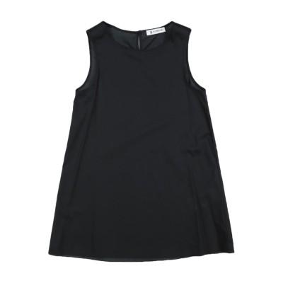 ドンダップ DONDUP ワンピース&ドレス ブラック 12 ナイロン 100% ワンピース&ドレス