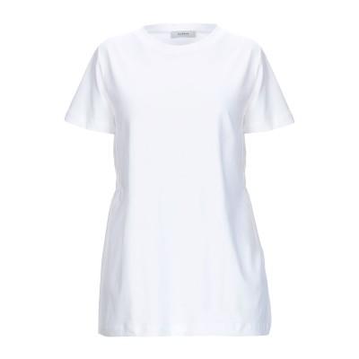 アルファスタジオ ALPHA STUDIO T シャツ ホワイト 42 コットン 100% T シャツ