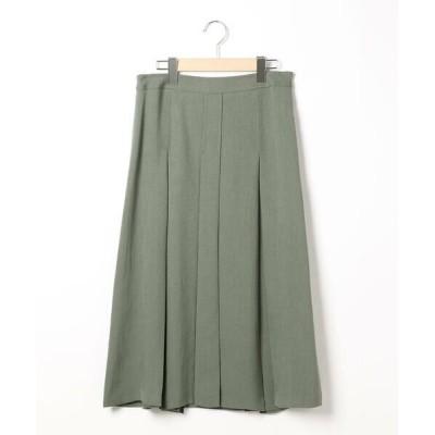 SCAPA/スキャパ トリアセドライツイルスカート グリーン 40