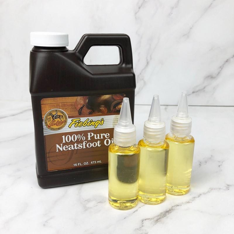 30ml -分裝罐-美國 fiebing's 純牛腳油 100% 皮衣 皮包 植鞣皮 保養 -清潔