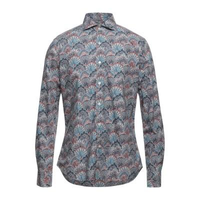 XACUS シャツ パステルブルー 39 コットン 100% シャツ