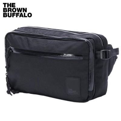 THE BROWN BUFFALO ザ ブラウンバッファロー ウエストバッグ CONCEALSLING - BALLISTIC BLACK - ヒップバッグ ショルダーバッグ