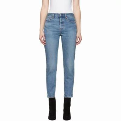 リーバイス ジーンズ・デニム Indigo Wedgie Icon Fit Jeans
