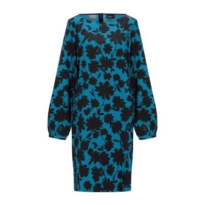 EMME by MARELLA ミニワンピース&ドレス アジュールブルー 46 ポリエステル 90% / ポリウレタン 10% ミニワンピース&ドレス