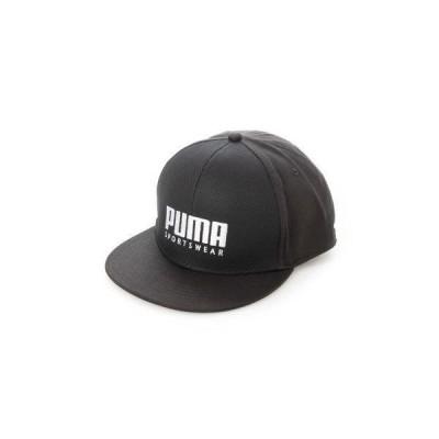 プーマ PUMA キャップ プーマ SF フラットブリム キャップ 023126 (ブラック)