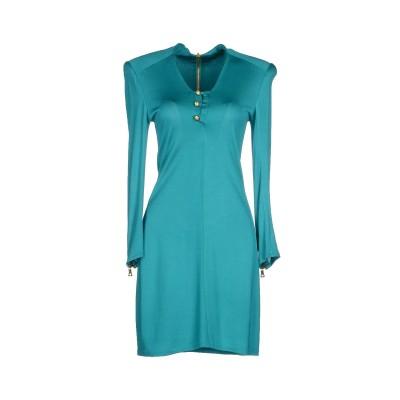 バルマン BALMAIN ミニワンピース&ドレス ターコイズブルー 36 レーヨン 73% / ウール 27% ミニワンピース&ドレス
