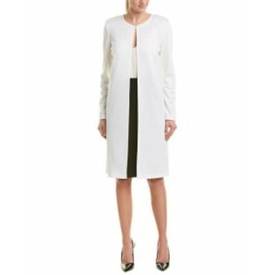 ファッション 衣類 St. John Wool-Blend Cardigan 6 White