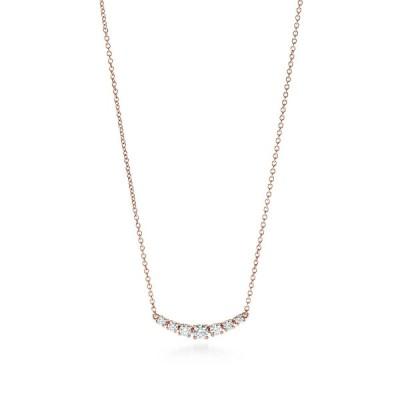 ティファニー TIFFANY ネックレス ローズゴールド 18K ダイヤモンド