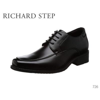 シークレットシューズ ビジネスシューズ インヒール メンズ モンクストラップ RICHARD STEP 726