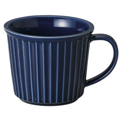 プレゼント マグカップ / 紺レリーフマグ 小 寸法: 8.5 x 9cm・270cc 230g