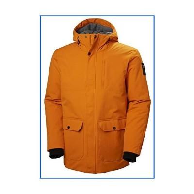 【新品】Helly Hansen Men's Urban Waterproof Breathable Insulated Parka Jacket, 283 Marmalade, XX-Large【並行輸入品】