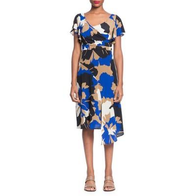 トラシーリース ワンピース トップス レディース Tracy Reese Asymmetric Surplice Sheath Dress -