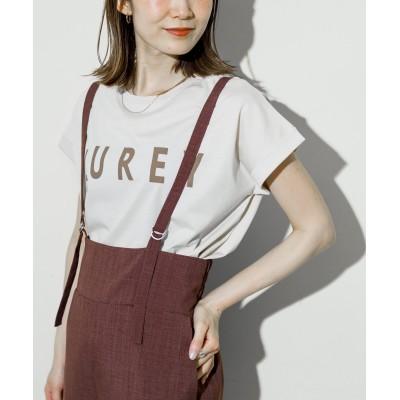 ドライタッチコットンロゴTシャツ