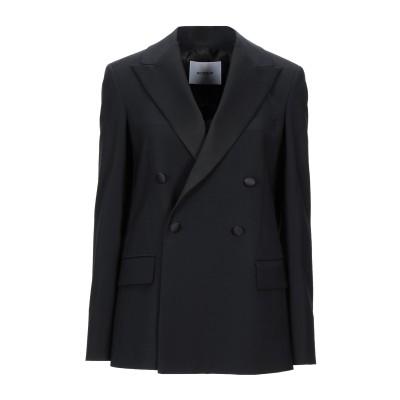 ドンダップ DONDUP テーラードジャケット ブラック 40 ウール 55% / ポリエステル 41% / ポリウレタン 4% テーラードジャケット