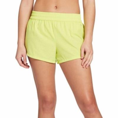 DSG レディース ランニング・ウォーキング ショートパンツ ボトムス・パンツ Stride Mesh Shorts Suisse Lime