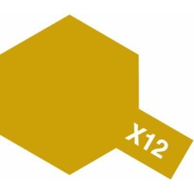 TAMIYA 【塗料】アクリルミニ X-12 ゴールドリーフ