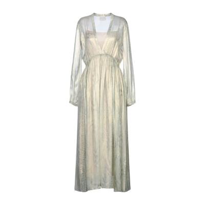 フォルテ フォルテ FORTE_FORTE ロングワンピース&ドレス ライトグリーン 0 シルク 100% ロングワンピース&ドレス
