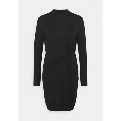 ヴェロモーダ ワンピース レディース トップス VMNORA SHORT DRESS - Day dress - black