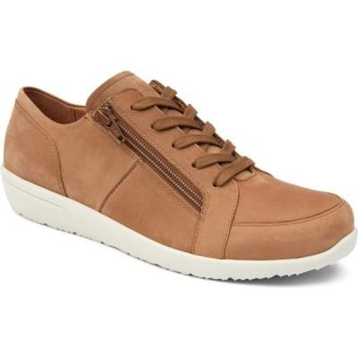 バイオニック VIONIC レディース スニーカー シューズ・靴 Abigail Sneaker Wheat Nubuck Leather