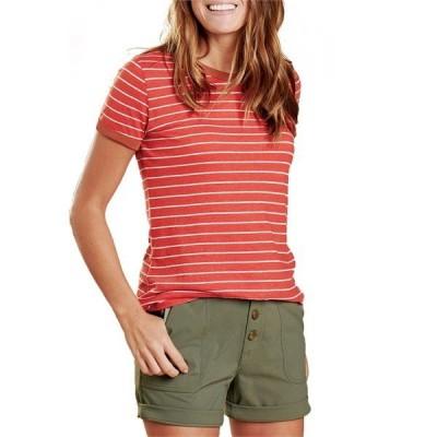 トードアンドコー レディース Tシャツ トップス Toad & Co Grom Ringer T-Shirt - Women's