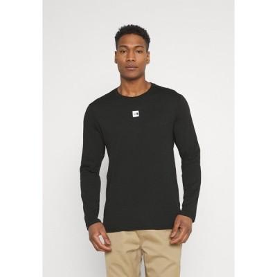 ノースフェイス カットソー メンズ トップス CENTRAL LOGO - Long sleeved top - black