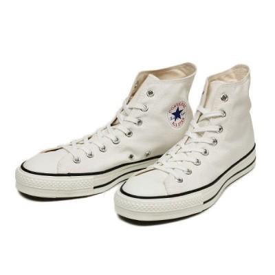 (日本製) コンバース CONVERSE CANVAS ALL STAR J HI キャンバス オールスター J ハイ F13 WHITE