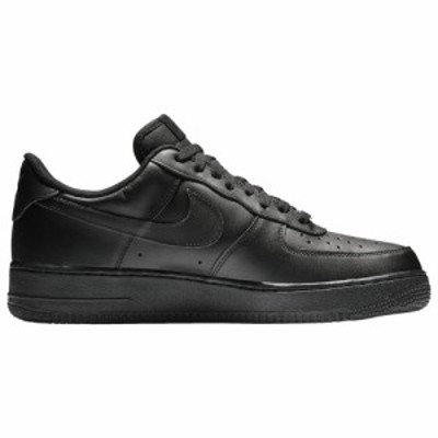 ナイキ メンズ エア フォース1 Nike Air Force 1 Low スニーカー Black/Black
