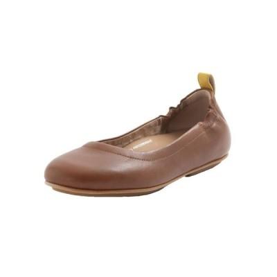 フィットフロップ レディース パンプス シューズ Women's Allegro Leather Ballerinas Flats