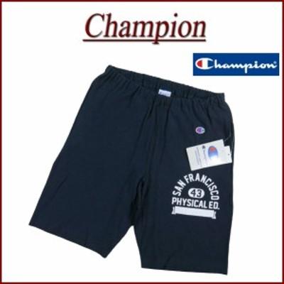 【3サイズ】 jd674 新品 Champion リバースウイーブ カレッジプリント スウェット ショートパンツ C3-R510 メンズ チャンピオン REVERSE