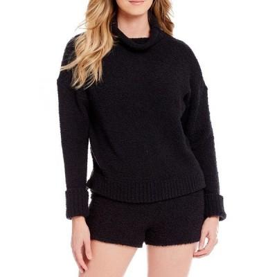 アグ レディース ニット&セーター アウター Sage Sweater-Knit Lounge Top Black