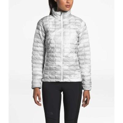ノースフェイス レディース ジャケット・ブルゾン アウター The North Face Women's ThermoBall Eco Jacket TNF White Waxed Camo Print