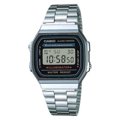 カシオ計算機カシオ 腕時計 デジタル A168WA-1A2WJR 日常生活用防水 シルバー 1個