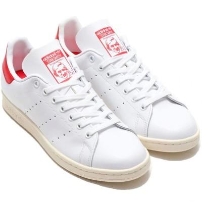 アディダス スタンスミス adidas STAN SMITH フットウェアホワイト/オフホワイト/スカーレット FV4146 アディダスジャパン正規品