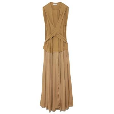 (styling//スタイリング)ギャザードッキングドレス/レディース BEG