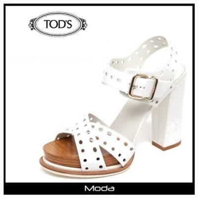 トッズ サンダル レディース TOD'S 靴 ストラップ パンチング ハイヒールサンダル