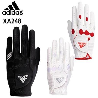 【ネコポス可能】【レフティ】アディダスゴルフ マルチフィット 8 グローブ (右手用)XA248 メンズゴルフグローブ adidas GOLF 20P