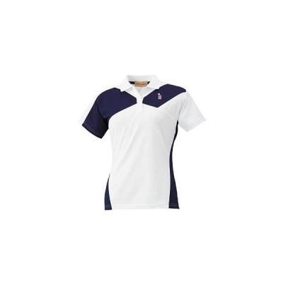 ゴーセン レディースゲームシャツ (T1503) [色 : ホワイト] [サイズ : LL]
