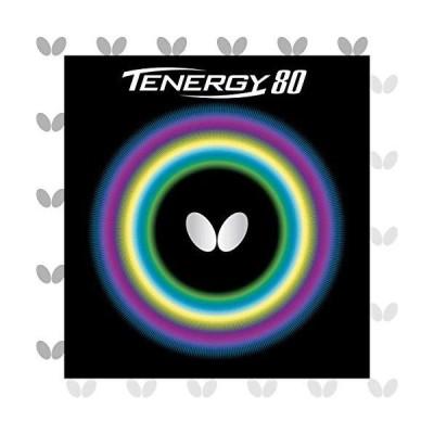バタフライ(Butterfly) 卓球 ラバー テナジー・80 裏ソフト テンション (スピン) 05930 レッド 厚