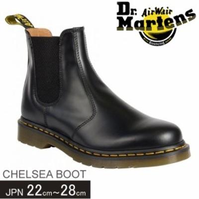 ドクターマーチン ブーツ チェルシー Dr Martens CHELSEA BOOT メンズ レディース サイドゴアブーツ イエロースティッチ 2976 22227001