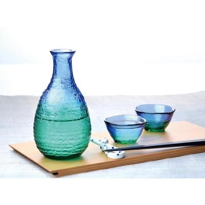 東洋佐々木ガラス ぐい呑 珊瑚の海 酒杯 日本製 40ml WA54CB/EG