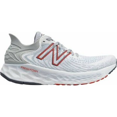 ニューバランス メンズ スニーカー シューズ New Balance Men's Fresh Foam 1080 V11 Running Shoes White/Red