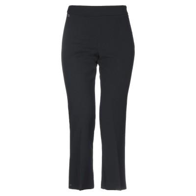 マニラ グレース MANILA GRACE パンツ ブラック 38 ポリエステル 68% / レーヨン 30% / ポリウレタン 2% パンツ