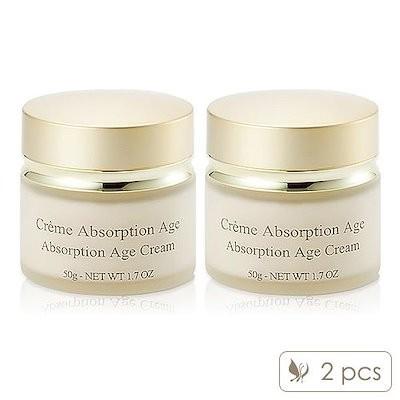 2Pcs Lilyth d or Absorption Age Cream 50g