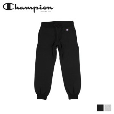 チャンピオン Champion スウェット パンツ リバースウィーブ メンズ REVERSE WEAVE SWEATPANT ブラック グレー 黒 C3-N290