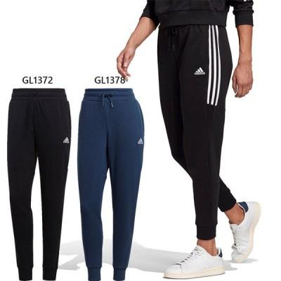 6月中旬入荷予約商品 アディダス レディース エッセンシャルズ カット 3ストライプス パンツ Essentials Cut 3-Stripes Pants ロング丈 トレーニング 28773
