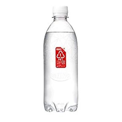 MS+B ウィルキンソン 炭酸水 ラベルレスボトル 500ml ×24本 [Amazon限定ブランド]