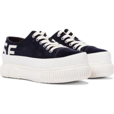 モンス Monse レディース スニーカー シューズ・靴 x both corduroy platform sneakers Midnight